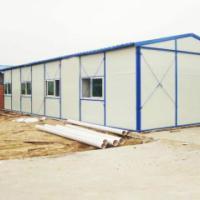 供应潍坊阻燃岩棉活动房每平方多少钱岩棉活动房材料价格