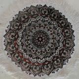 供应手工真丝地毯圆形