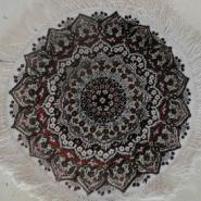 手工真丝地毯圆形图片