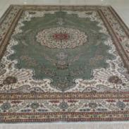 绿色大地丝毯阿拉伯风情出口欧美图片