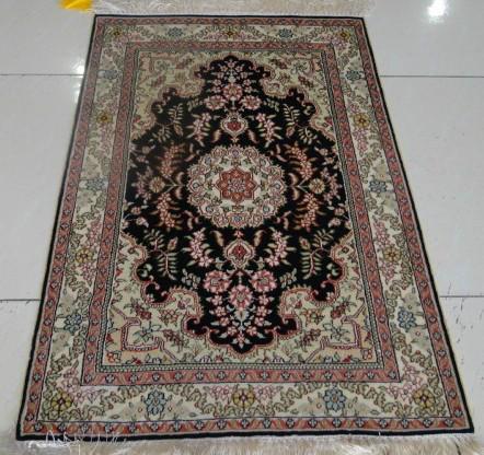 供应400道真丝地毯波斯阿拉伯地毯