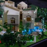 供应单体别墅模型制作升降模型制作,商业升降盘模型制作公司
