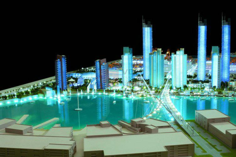 建筑模型制作公司 数字沙盘模型公司电子沙盘模型公司深圳恒信模型设计制作公司