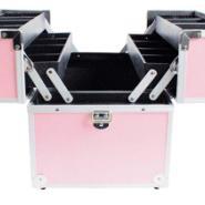 供应钢琴烤漆铝箱礼品盒粉色工具箱化妆箱