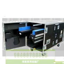 供应特殊航空带轮航空箱黑色铝合金批发