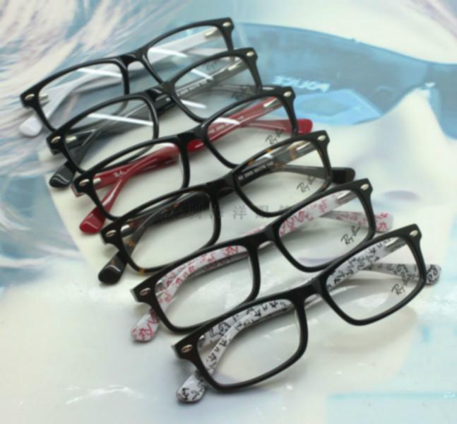 深圳/供应雷朋RB5162品牌板材眼镜架 雷朋板材全框光学眼镜架批发...