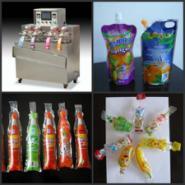果奶果冻吸吸冰灌装封口机旋盖机图片