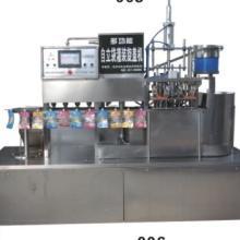 供应用于乳品饮料果汁的最新全自动自立袋灌装机自立袋包装机吸嘴袋灌装封口机