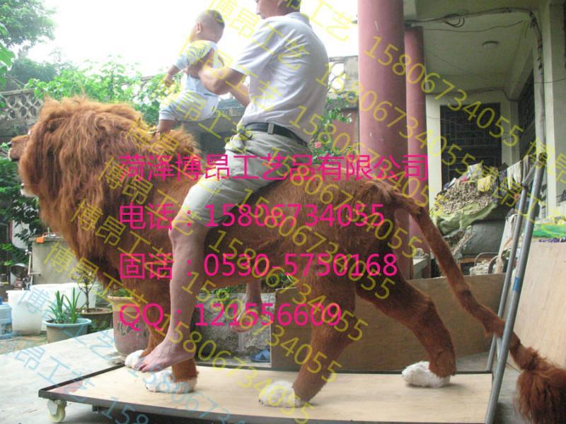 供应动物狮子,坐人狮子,热门动物模型