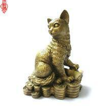 供应北京北京铜招财猫北京铜猫
