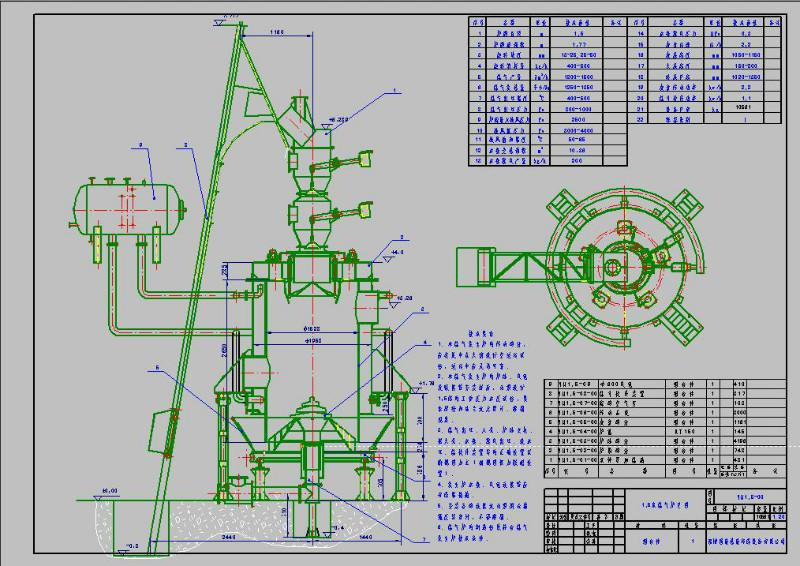 煤气发生炉图纸_煤气发生炉图纸供货商_供应识别图纸广联达怎么处理图片