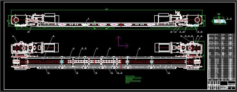 绍兴市膜片输送机图纸厂家联轴器刮板明无锡图纸安装创图片