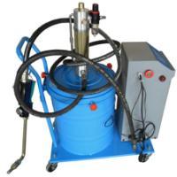 气动定时定量润滑油加注机TI8001自动循环数显高压加油