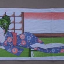 供应日本艺妓魔法变色毛巾批发