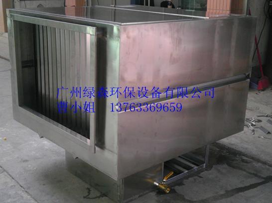 供应梧州LSP水喷淋油烟净化器不锈钢打造酸碱废气过滤器