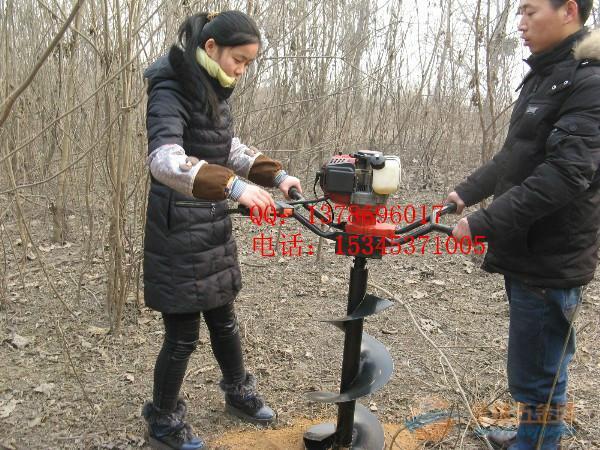 供应林业机械挖坑机资料 植树造林挖坑机价格 挖坑机