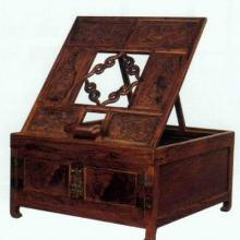 低价供应黄花梨木折叠式镜台雕刻机
