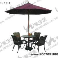 海边餐厅桌椅
