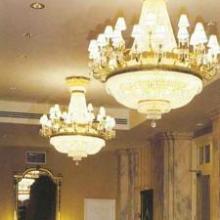 供应酒店大堂水晶吊灯设计定制