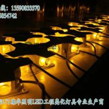 供应4W金黄光LED十字星光灯,金黄光工程亮化点光源