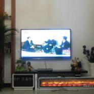 欧式壁炉电视柜电视柜壁炉装修效果图片