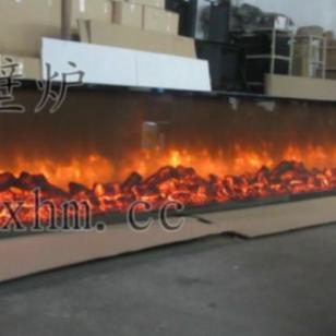 7米3壁炉火焰墙图片