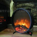 供应独立式双面壁炉伏羲火焰品牌;创意壁炉;欧式电壁炉;壁炉家居