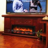 欧香名邸别墅电视柜伏羲壁炉设计图片