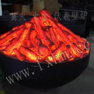 篝火盆壁炉图片
