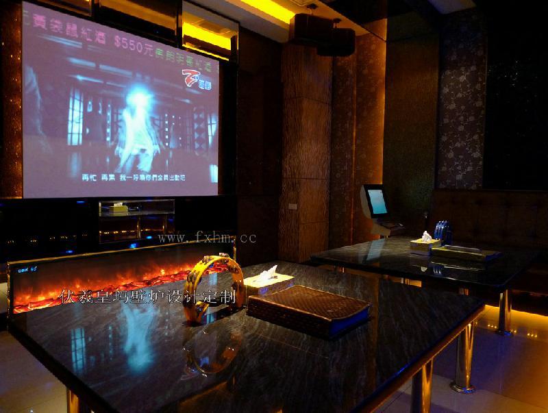 供应KTV壁炉电视墙设计;好乐迪KTV;乐嘉KTV;天上人间KTV