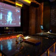 KTV壁炉电视墙设计装饰图片