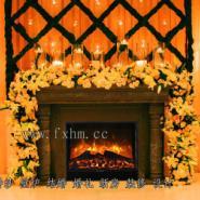 婚纱壁炉结婚婚礼新房装修设计图片