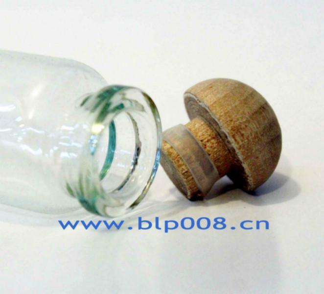供应现货批发实木玻璃瓶