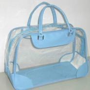 PVC手提袋/PVC化妆袋/PVC电压袋图片