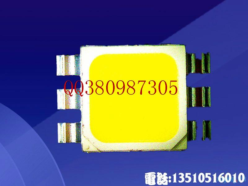 供应5074大功率贴片灯珠1W白光5074灯珠性能好高品质低衰减5074贴片