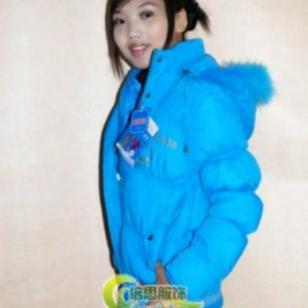 2013冬季新款韩版加厚带帽棉服图片