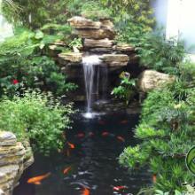 室内假山流水设计,杭州室内假山流水设计,室内假山流水设计施工公司