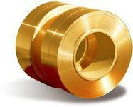 供应优质H59 H62黄铜带 可按需求分条图片