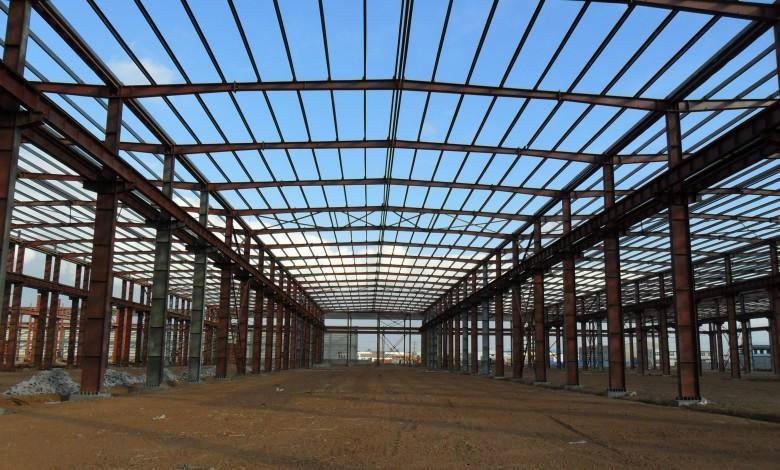 供应钢结构仓库厂房建设