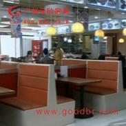 茶餐厅沙发厂家007图片