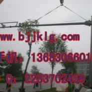 6米高支臂9米4车道立杆平安城市图片