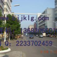 6米悬臂10米城市道路抓拍立杆图片