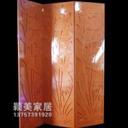 03雕花板镂空板背景墙隔断屏风玄关图片