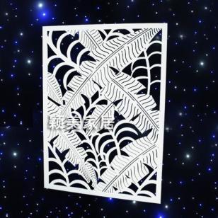 A05雕花板镂空板背景墙隔断屏风图片