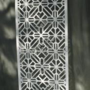 Y18/雕花板PVC镂空板背景图片