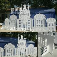 A03雕花板婚庆道具雕花城堡图片