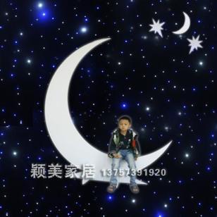 CY133/PVC婚庆道具/月亮图片