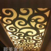 PVC雕花板吊顶隔断背景墙祥云花型