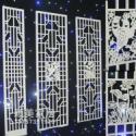 供应雕花板镂空板背景墙隔断屏风
