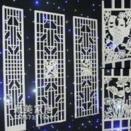 雕花板镂空板背景墙隔断屏风图片